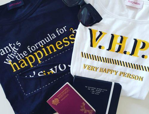 Happiness Edition: a linha de t-shirts felizes de CNF com os designers Storytailors